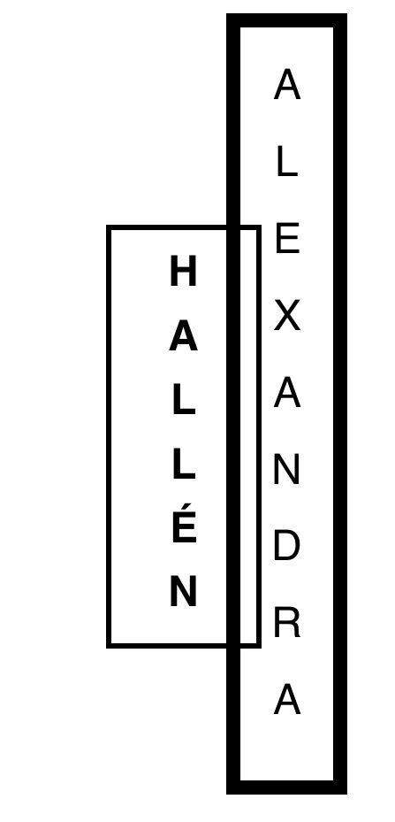 ALEXANDRA HALLÉN